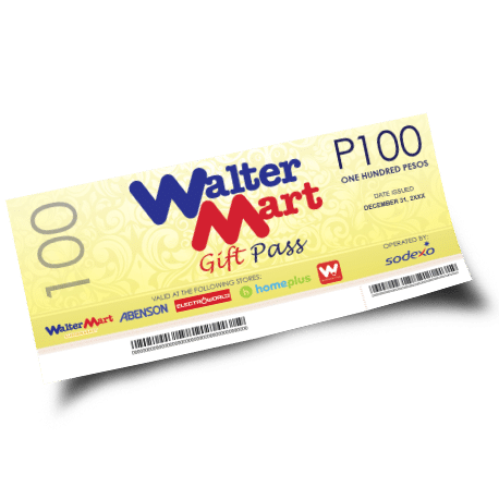 Walter Mart Gift Pass