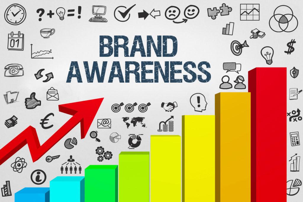 increasing of brand awareness