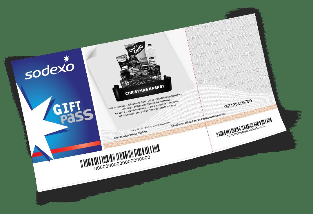 Christmas Basket Gift Pass