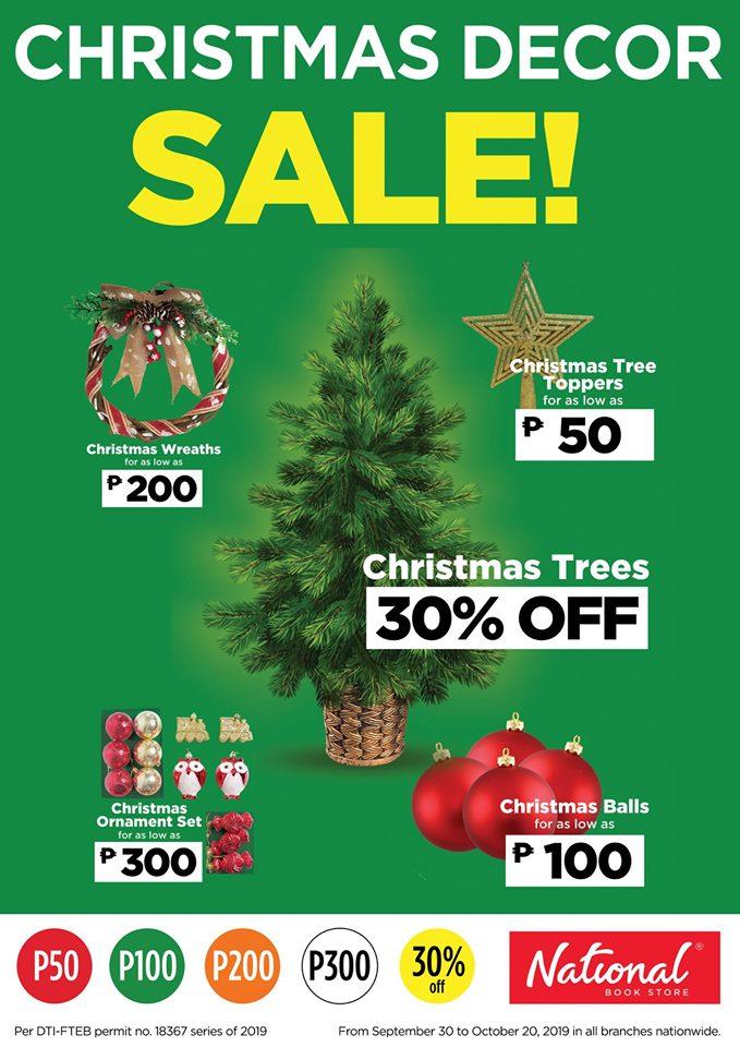 NBS Christmas Decor Sale