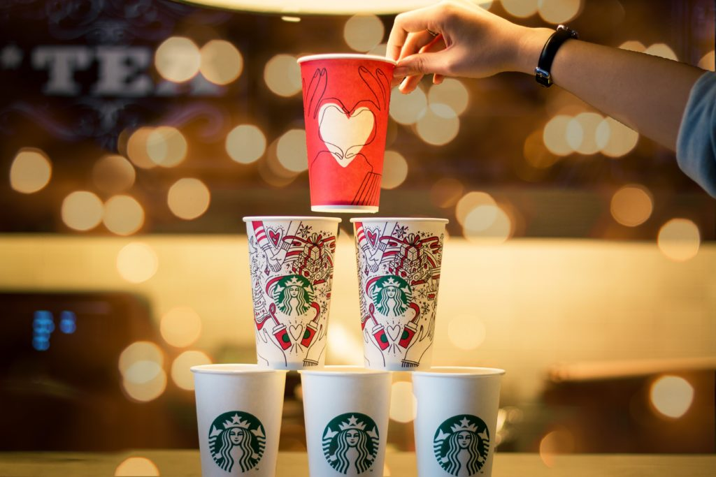 Starbucks Christmas marketing
