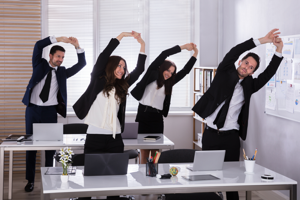 3PM Office Stretches