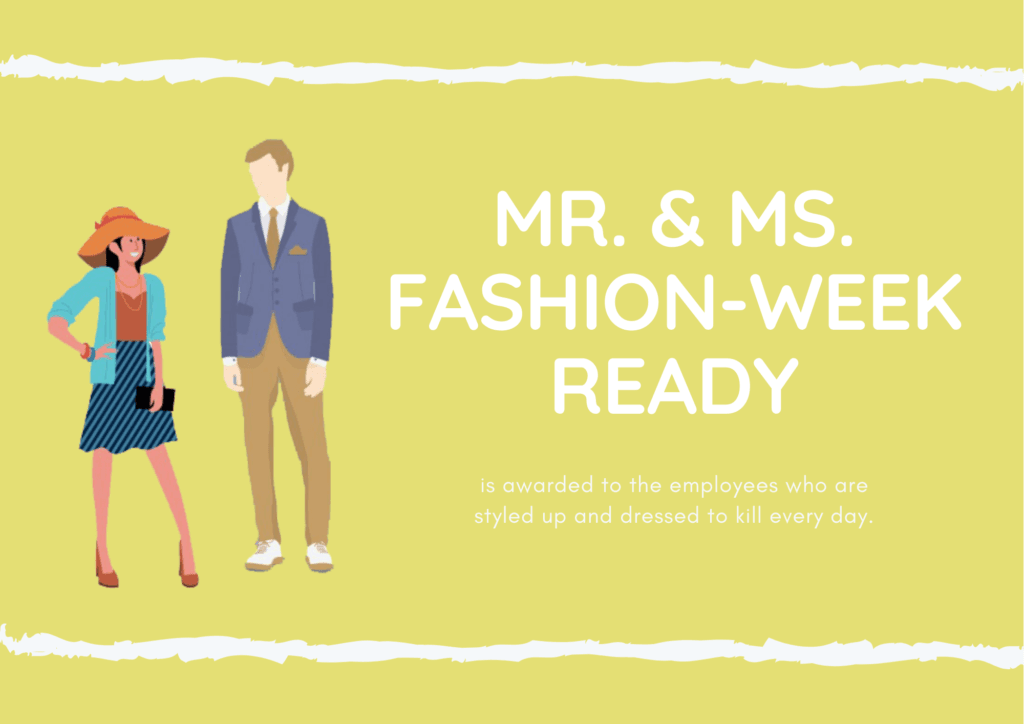 Mr. & Ms. Fashion-Week Ready