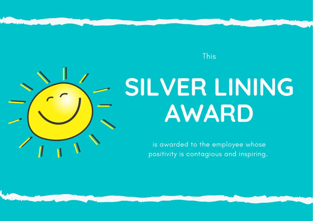 The Silver Lining Award
