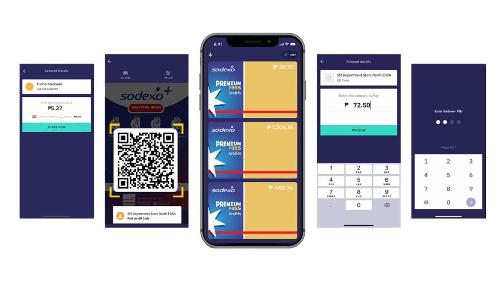 Sodexo+ App Features