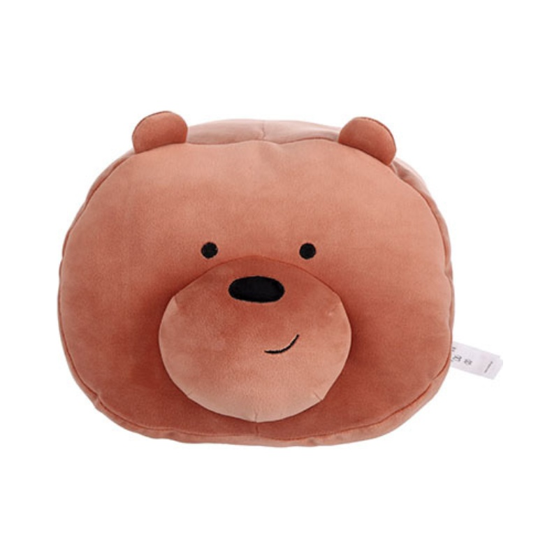 We Bare bear Grizzly Throw Pillow