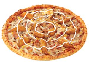 Potato Bacon pizza