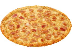 White Bacon pizza