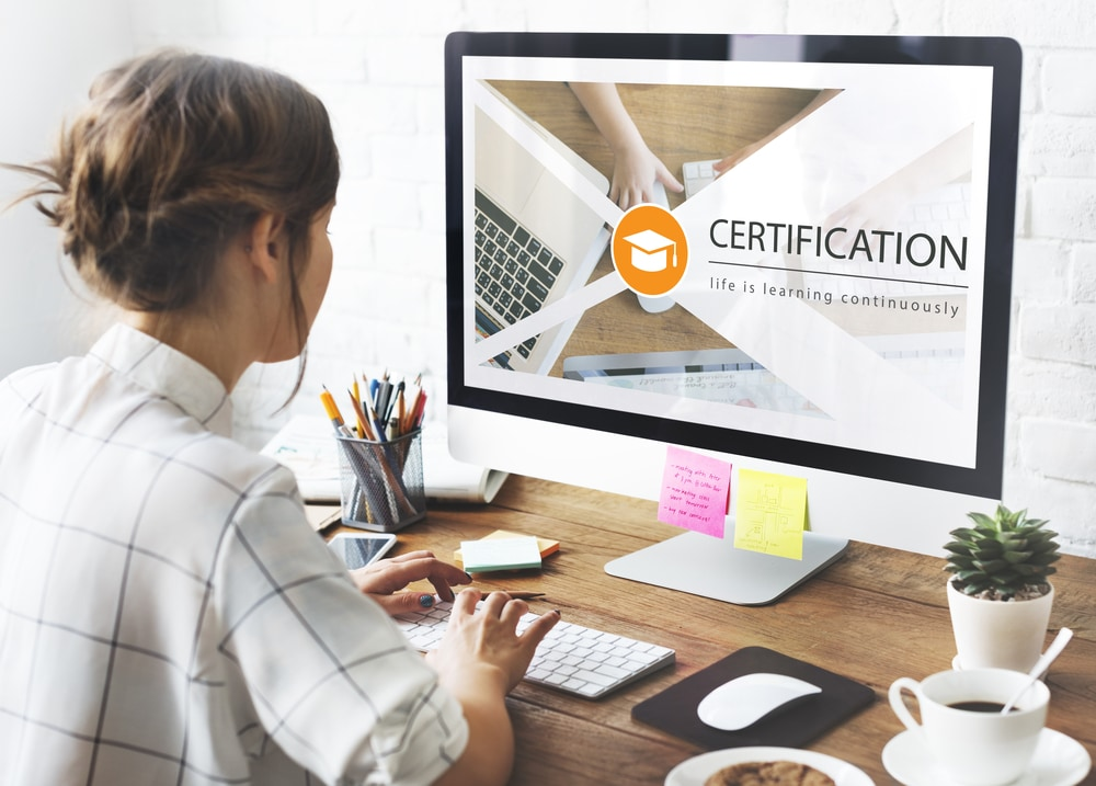 Sign up for a certification course