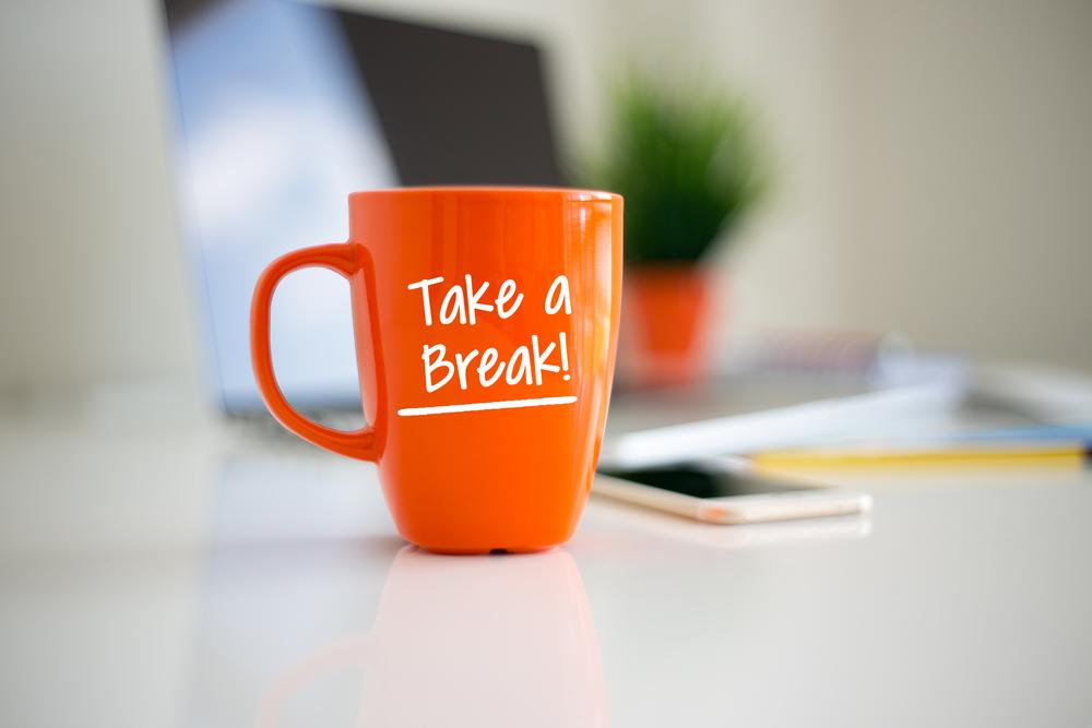 Empower employees to take wellness breaks