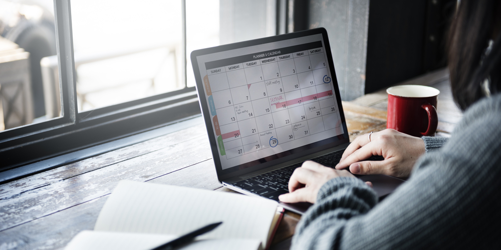 Schedule the meeting ahead of time